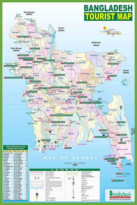 Bangladesh Map | where Is Bangladesh located | einfon