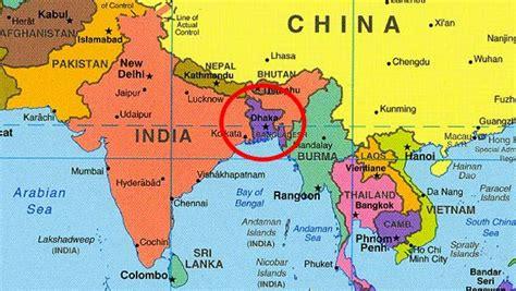 Bangladesh Mapa | thujamassages