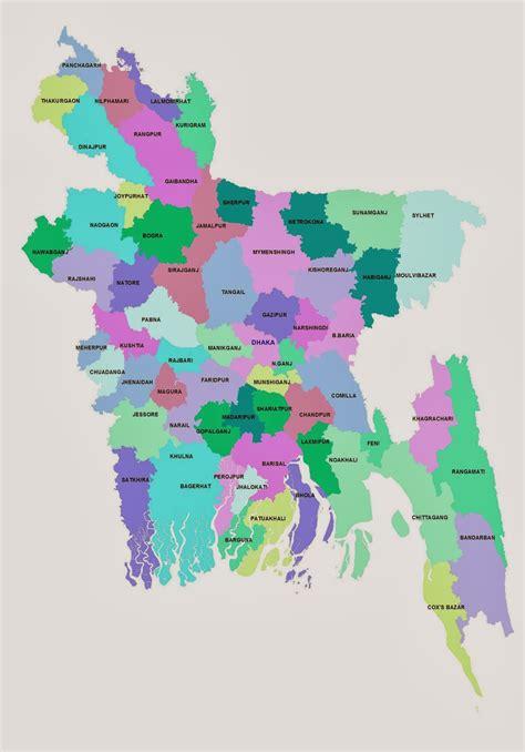 Bangladesh Vola Map