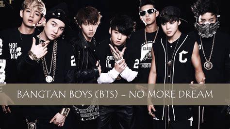 Bangtan Boys  BTS    No More Dream  Easy Lyrics    YouTube