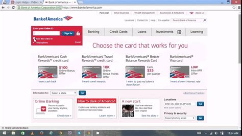 Bank of America Online Banking   Bank of America Login ...