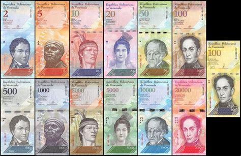 Banknote Venezuela Serial of 13 notes   2007 à 2017   500 ...