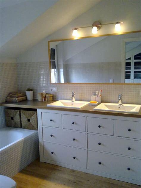 Baño con mueble tuneado de Ikea | Projets à essayer | Ikea ...