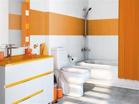 baño leroy merlin azulejos naranjas