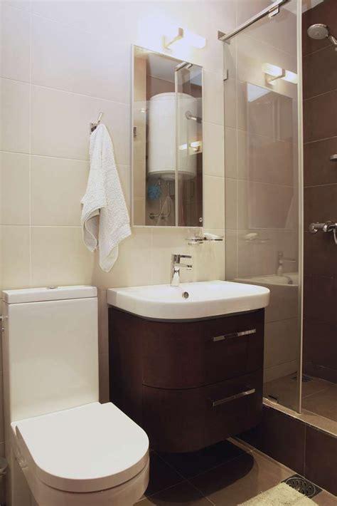 baño pequeño moderno Repisa para baño pequeño   Color para ...
