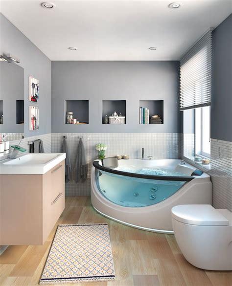 Baño y jacuzzi, combinación ideal   Leroy Merlin | Baños ...