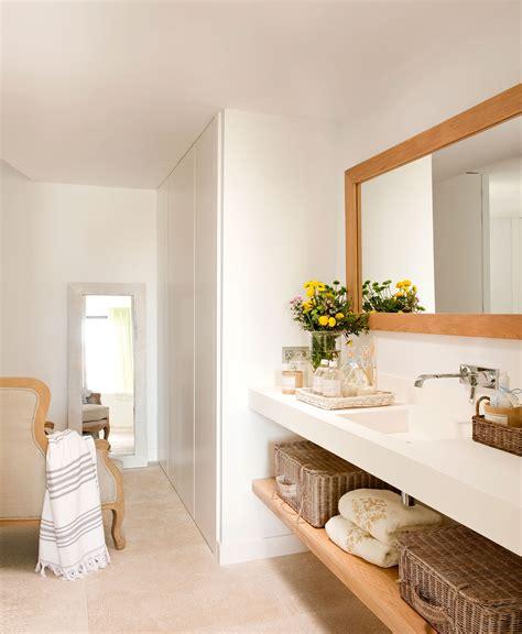 Baños en blanco: ideas de decoración