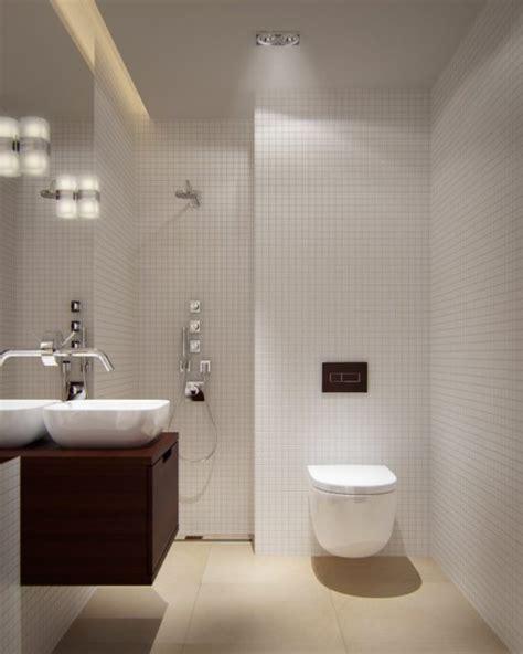Baños Pequeños Modernos 2020 80 Fotos e Ideas de decoración
