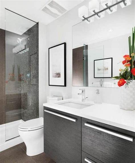 Baños Pequeños Modernos 40 Fotos e Ideas de decoración