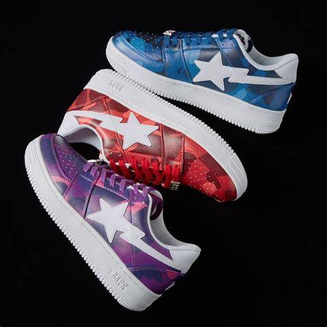 BAPE BAPESTA Tonal Camo Pack   Sneaker Bar Detroit
