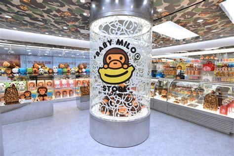 Bape s Baby Milo opens Japan, Hong Kong pop ups   Retail ...