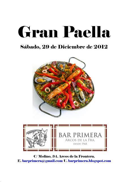 BAR PRIMERA: Gran Paellada 2012 en el Bar Primera