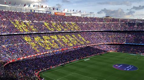 Barça Real Madrid 28/10/2018 El Clasico hymne himno anthem ...