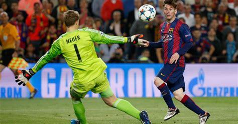 Barcelona 3 0 Bayern Munich: Stunning Lionel Messi brace ...