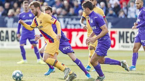 Barcelona   CD Leganés : resumen, resultado y goles   Copa ...