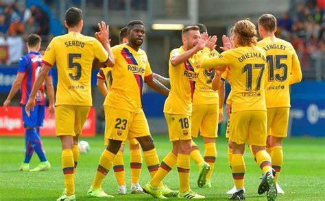 Barcelona derrota al Eibar en la Jornada 9 de La Liga