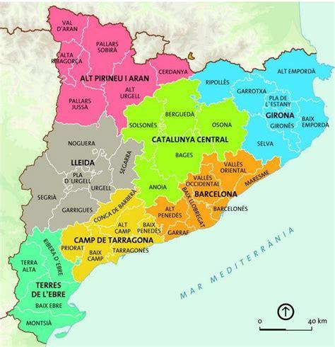 Barcelona España Mapa   Mapa