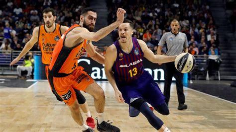 Barcelona Lassa Valencia Basket, la Copa del Rey de ...