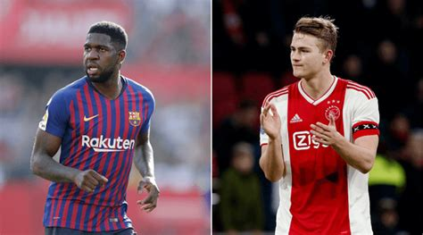 Barcelona news : Samuel Umtiti to move to Man Utd as part ...