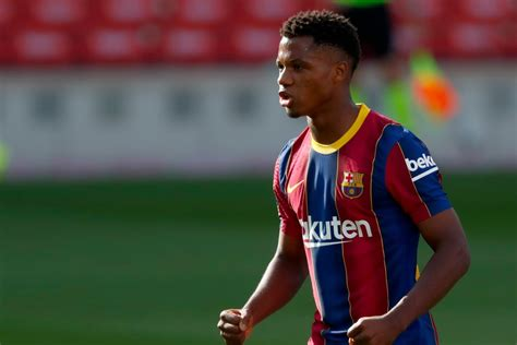 Barcelona s Ansu Fati Becomes Youngest 21st Century ...