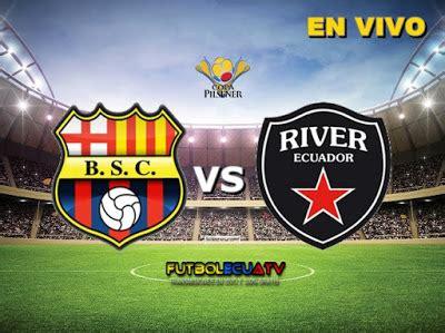 Barcelona SC vs River Ecuador   22 10 2016   Futbolecuatv ...