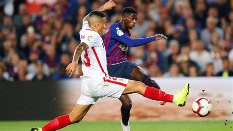 Barcelona   Sevilla: Resultado de LaLiga Santander de ...