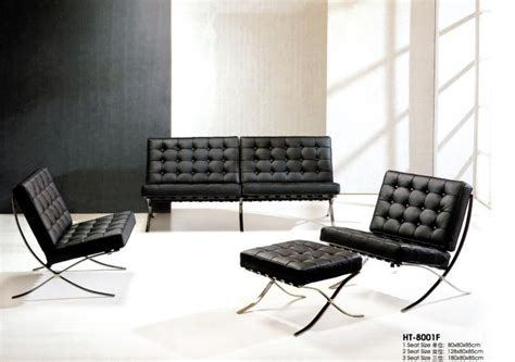 Barcelona sofa,leather sofa,living room sofa   HT 8001F ...