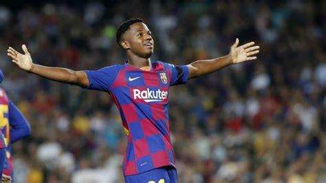 Barcelona: Spain dream of Ansu Fati... And Barcelona could ...