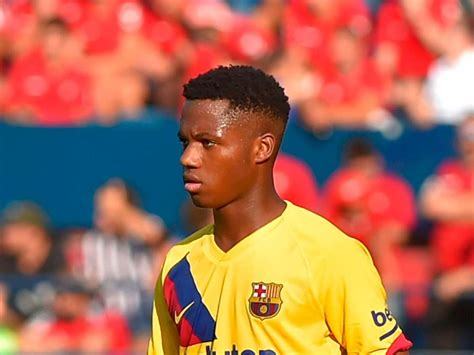 Barcelona starlet Ansu Fati becomes youngest La Liga ...