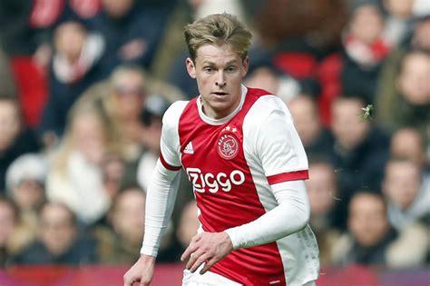 Barcelona transfer news: Ajax starlet Frenkie de Jong ...