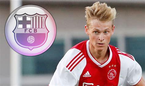 Barcelona transfer news: Barca request De Jong deal, Real ...