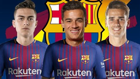 Barcelona Transfer Targets in January 2018   YouTube