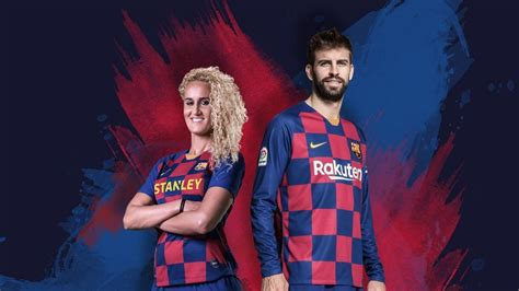 Barcelona unveils 2019 20 kit: Signature stripes replaced ...