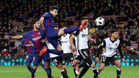 Barcelona   Valencia: Descanso del partido, en directo