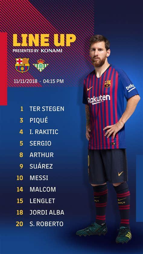 Barcelona vs Betis, en directo   Liga Santander 2018 19 ...