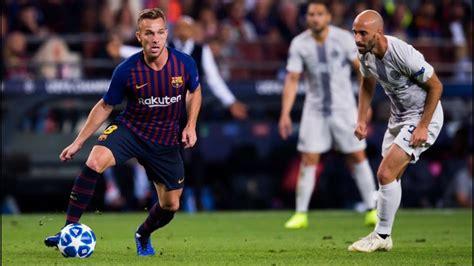 Barcelona vs Inter [2 0]   ARTHUR MELO S COMPLETE ...