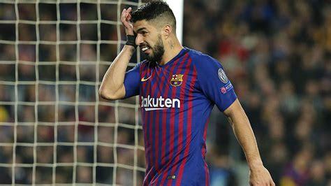Barcelona vs Lyon: Luis Suarez: I stepped on Denayer and ...