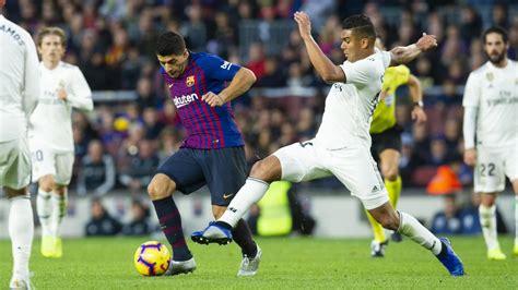 Barcelona vs Real Madrid: En vivo | Semifinal Copa del Rey ...