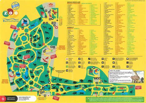 Barcelona Zoo   zoomaps.co.uk