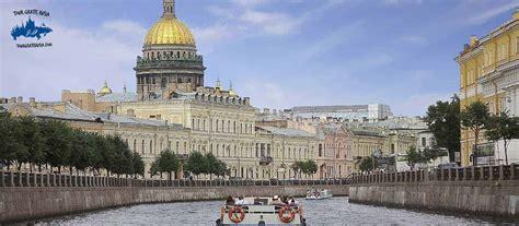 Barco Canales San Petersburgo | Los mejores tours Rusia