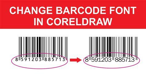 barcode font change   YouTube