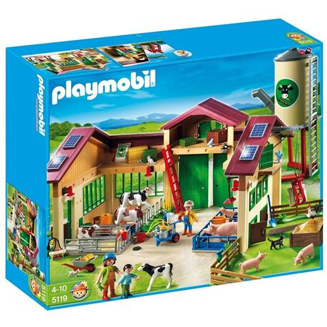 Barn with Silo   Imaginative Play Toy Set by Playmobil ...