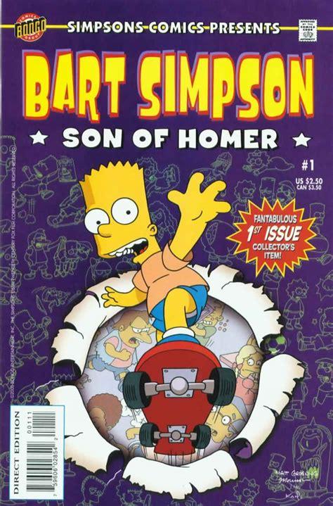 Bart Simpson  Comic Book Series  | Simpsons Wiki | Fandom ...