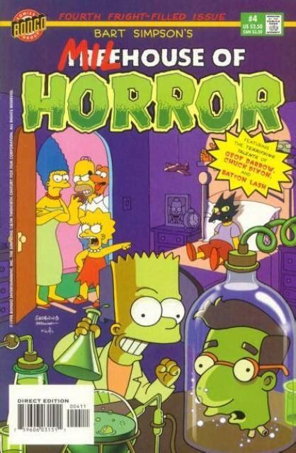 Bart Simpson s Treehouse of Horror  Volume    Comic Vine