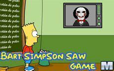Bart Simpson Saw Game   Microjogos.com