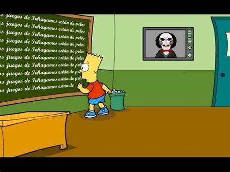Bart Simpson Saw Game   Solución   YouTube