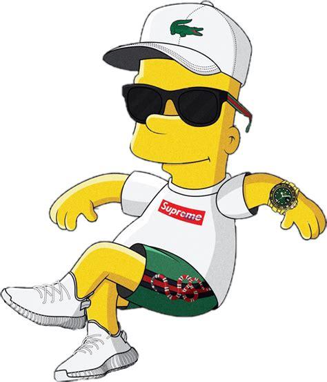 Bart Simpson Simpsons Supreme love kendrick vintage tra...