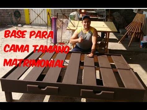 BASE PARA CAMA MATRIMONIAL   YouTube