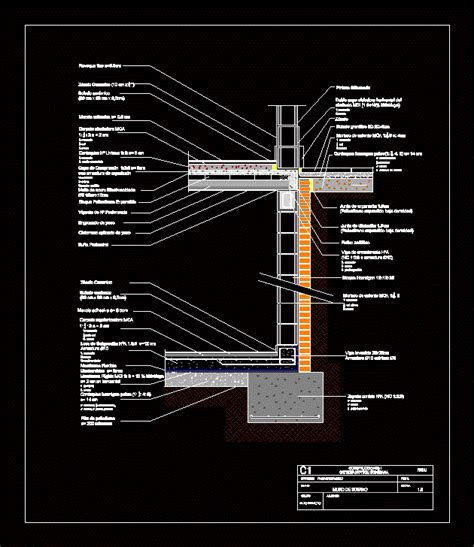 Basement wall   CAD Files, DWG files, Plans and Details