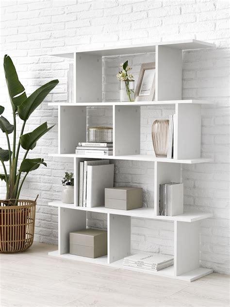 Basic estantería de módulos irregulares blanca | Kenay ...
